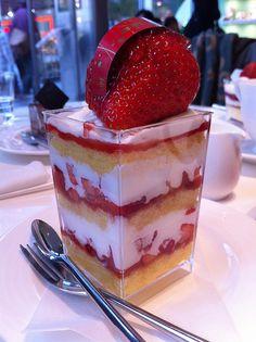 #Strawberry shortcake done right. #mmm #delicious #dessert