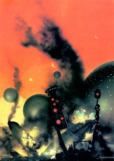 "Chris Foss, Second Stage Lensman by E. E. ""Doc"" Smith, published by Panther, 1973. From the essay: Chris Foss and the Technological Sublime"