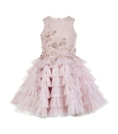 Mischka Aoki Beaded Tutu Dress available to buy at Harrods. Shop online and earn Rewards points. Baby Pageant Dresses, Princess Tutu Dresses, Pink Tutu Dress, Princess Dress Kids, Girls Party Dress, Girl Tutu, Party Dresses, Little Girl Dresses, Girls Dresses