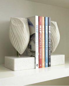 owl sculptures. books  http://www.jonathanadler.com/mod-owl-sculpture/?cat=0=#