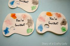 Diary of a Crafty Lady: An ART Birthday Party