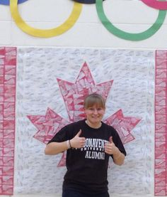 Heather showing her Bona Pride from Canada!
