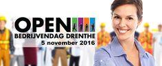 Op zaterdag 5 november vindt weer de grootste open dag van Nederland plaats; de Open Bedrijvendag Drenthe. Ook dit jaar kan je weer een kijkje nemen achter de deuren die normaal voor jou gesloten blijven.  Lees verder op onze website.