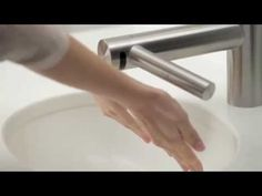 Meet the revolutionary technology of the Dyson Airblade Tap: Hand drying technology in a tap. http://www.katom.com/cat/grid/dyson-hand-dryer.1.html