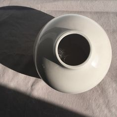 obj. 9.1 // redesigned and hand painted // taupe ceramic vessel