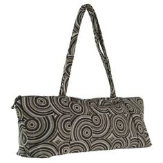 """Smart and sassy bag! Small open scoop pocket on the front for quick access to cell phones, one small interior pocket. Measures approx. 15.5"""" x 5.5"""" x 3"""". #MadeinUSA www.nortonsusa.com"""
