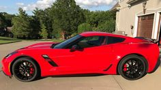 Red 2017 Grand Sport C7 Corvette Delivery Review - YouTube