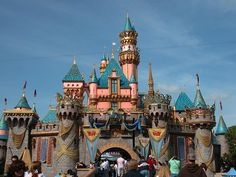 DISNEYLAND!  My Favorite place to travel to!