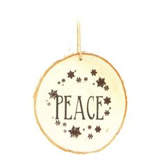 "Wooden hand crafted ""Peace"" Christmas ornament with snowflake print. Size: Cute decor which can be added to your homes this Christmas. Also, a great gift idea. Wooden Christmas Ornaments, Christmas Decorations, Holiday Decor, Wooden Hand, Rustic Decor, Festive, Great Gifts, Christmas Gifts, Peace"