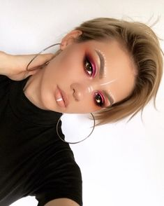 Coachella inspired makeup look