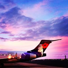 Maui Skies: #OGG Line Serviceman / resident Hawaiian Airlines shutterfly Keenan Enfield snapped this fantastic sky over Kahului. Share your great #skyscapes with us!