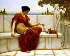 The Favourite (John William Godward - ) 1901