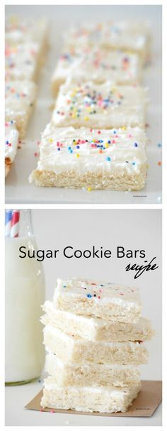 Sugar Cookie Bars Recipe from MichaelsMakers The Idea Room