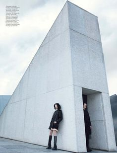 W Magazine September 2014 | Mariacarla Boscono by Emma Summerton