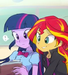 772172__safe_twilight+sparkle_shipping_lesbian_equestria+girls_upvotes+galore_book_sunset+shimmer_reading_exclamation+point.png (589×651)