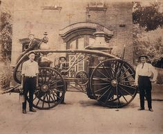 Photo 1004 by Wappingers Historical Society, via Flickr Garner Steam Fire Engine No. 1