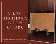 Wedding Album Highlight: Aspen Series Album | amanda.matilda.photography