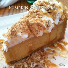 Pumpkin Cheesecake - myrecipemagic.us
