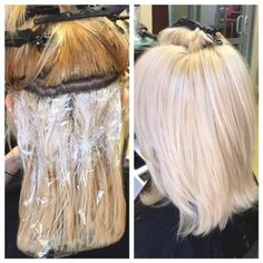 Intense Color Correction For An EVEN Blonde Bombshell - Career - Modern Salon (platinum blonde balayage diy) Hairstyles Haircuts, Pretty Hairstyles, Blonde Hairstyles, Layered Hairstyles, Pixie Haircuts, Medium Hairstyles, Braided Hairstyles, Wedding Hairstyles, Platinum Hair Color