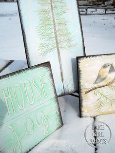 Rustic Winter Art Group