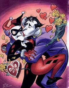 The Joker and Harley Quinn art by Bruce Timm Batman DC Comics Bruce Timm, Joker Y Harley Quinn, Joker Batman, Joker Art, Batman Stuff, Batman Robin, Der Joker, Comic Art, Comic Books