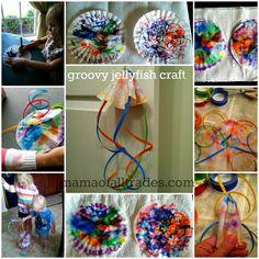 Groovy Jellyfish Craft #FindingNemo3D