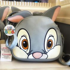 """좋아요 1,480개, 댓글 16개 - Instagram의 USShoppingSOS Pick Up Service(@usshoppingsos)님: """" California Disneyland Resort Pick Up  ✨New✨ Thumper Face Icon Crossbody Bag These items are…"""""""