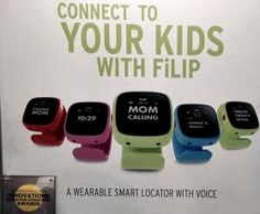 FiLIP Smart locator for kids - Moms Talk New Trends in Mobile at  2014 CES – Video #ces2014 #wearabletech