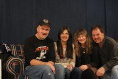 Robert, Carol, Kaye & Wes...happy with new recordings!