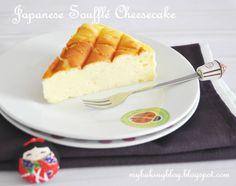 My Baking Recipes: Japanese Souffle Cheesecake