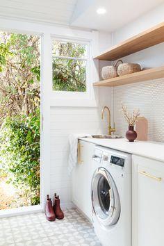 A Charming Laundry/Mudroom Reno — Adore Home Magazine