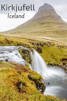 Kirkjufell Iceland and its waterfall Kirkjufellsfoss: photos, info, access