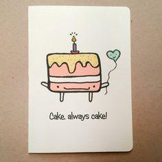 Too sweet!!!  https://www.etsy.com/au/listing/251536302/cake-card