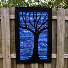 """Quilted Delights: Project Quilting Season 6 - Week 1 - """"Trees"""""""