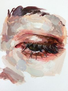 Eye study elly smallwood oil on canvas 2017 acrylic portrait painting, portrait watercolour, oil Painting Inspiration, Art Inspo, Art Sketches, Art Drawings, Pencil Drawings, Oil Pastel Drawings, Elly Smallwood, Arte Sketchbook, Guache