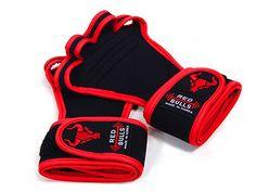 workout gloves-redline