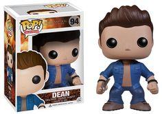POP Movies: Supernatural Dean Vinyl     Coole Dean   -  POP Figur  aus der beliebten `Supernatural`- Serie. - detailierte Mini- Figur, ca. 10 cm - Vinyl ( Kunststoff) - Lieferung in schicker Fensterbox 22. Dezember - Hadesflamme - Merchandise - Onlineshop für alles was das (Fan) Herz begehrt!