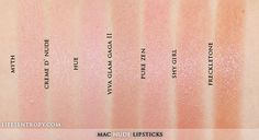 MAC Lipstick Collection 2013 (70 Shades!)   Life's Entropy   Beauty Reviews, Swatches, and Lifestyle Blog