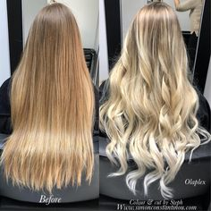 "20 Likes, 2 Comments - O.Constantinou & Sons (@simonconstantinouhairteam) on Instagram: ""How pretty is this natural blonde, balayage ombré by StephSteph used @olaplex throughout the…"""