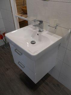 Skříňka s umyvadlem Vario Dekor 60 cm, bílá 6690 kc
