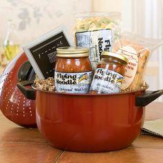 Italian/pasta gift basket