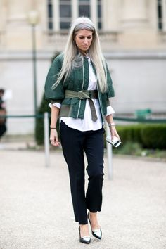 Pin for Later: The Best Street Style Snaps From Paris Fashion Week PFW Day Seven Sarah Harris