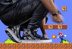 Nintendo x Vans SK8 Hi Reissue 'Controller' post image