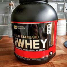 Thought I'd try this brand this time taste good let's see how good it is  #365strength #summerbody #summerbodyismadeinwinter #gainz #fitnessaddict #mylife #fitat40 #protein #optimumnutrition