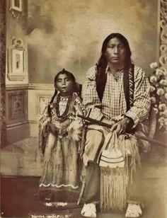 Black Wolf & daughter (Arapaho)