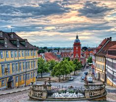 Gotha (Thüringen)- Deutschland Cities In Germany, Visit Germany, Germany Travel, Holidays Germany, Famous Buildings, Strange Places, Wonderful Picture, Jena, Oh The Places You'll Go