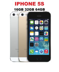 """Apple iPhone 5S 16GB 32GB (GSM Factory Unlocked) Space Gray - Silver - Gold Condition: Seller Refurbished """"The device has noticeable scratches or sc... #gray #silver #gold #space #unlocked #iphone #factory #apple"""