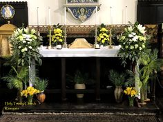Altar of Repose at Holy Trinity Church Ramsgate 2021
