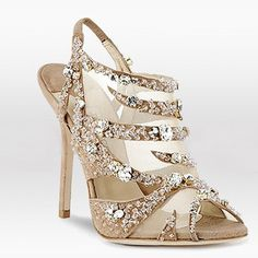 Sparkly! jimmy choo shoes