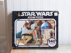 Vintage Star Wars Jigsaw Puzzle in Original Box, 1977 Kenner No Luke Retro Toys Games Retro Toys, Vintage Toys, Vintage Men, Kids Toys, Jigsaw Puzzles, Star Wars, The Originals, Stars, Box